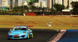 Porsche GT3 Cup: Sérgio Jimenez e Rodrigo Baptista vencem os 300 km de Goiânia pela Porsche Império