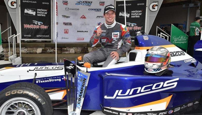 Pro Mazda Championshi: Victor Franzoni conquista o título de 2017