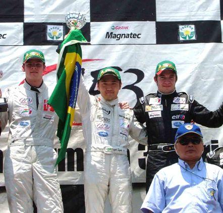 F3 Asiática: Rafael Suzuki conquista primeira vitória internacional do Brasil em 2008