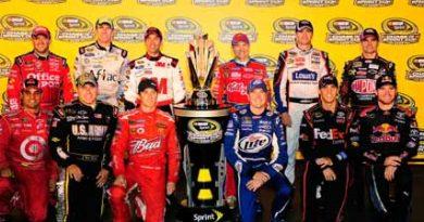 Nascar Sprint Cup Series: Definidos os doze classificados para os Playoffs