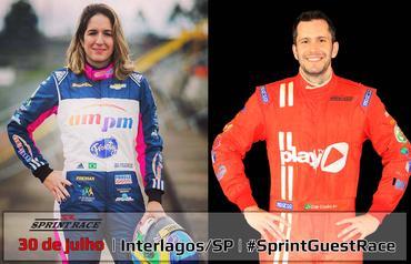 Sprint Race: Bia Figueiredo confirmada com Caê Coelho na Corrida de Convidados