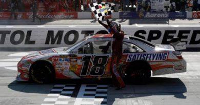 Nascar Sprint Cup Series: Kyle Busch vence a segunda no ano