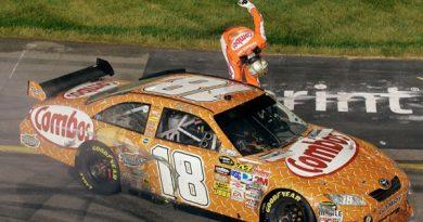 Nascar Sprint Cup Series: Aniversariante, Kyle Busch vence em Richmond