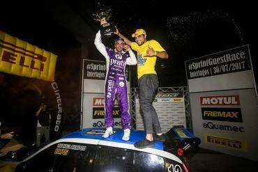 SprintGuestRace: Pilotos dão show em Interlagos, e vitória fica com Júlio Campos