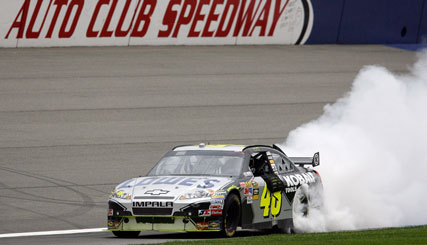 NASCAR Sprint Cup Series: Jimmie Johnson vence pela 48ª vez