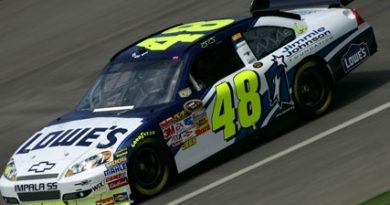 Nascar Sprint Cup Series: Jimmie Johnson vence facilmente em Fontana