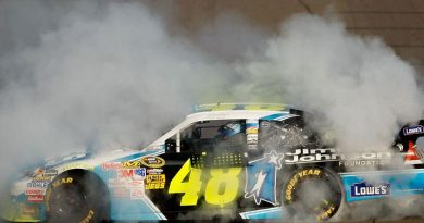Nascar Sprint Cup Series: Jimmie Johnson vence em Fontana e assume liderança dos Playoffs