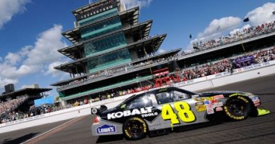 Nascar Sprint Cup Series: Jimmie Johnson vence em Indianápolis