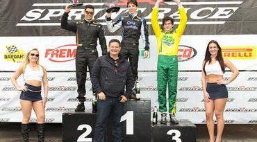Sprint Race: Flávio Lisboa venceu as duas provas da segunda etapa