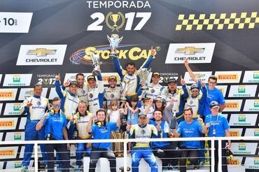 Stock Car: Daniel Serra conquista o título de 2017