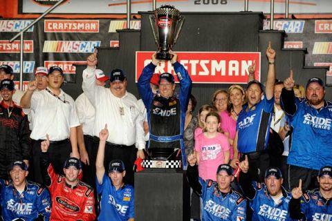 Truck Series: Johnny Benson é o Campeão de 2008