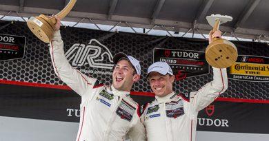 TUDOR USCC: Nicky Tandy e Patrick Pilet vencem no Virginia International Raceway