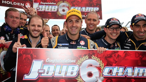 V8 Supercars Australia: Jamie Whincup é hexacampeão