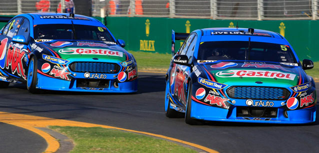 V8 Supercars Australia: Mark Winterbottom vence as quatro provas em Melbourne