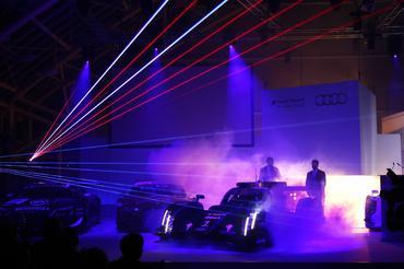 WEC: Audi apresenta novo R18 e-tron quattro com faróis a laser