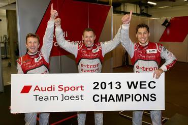 WEC: Allan McNish, Tom Kristensen e Loic Duval são os Campeões de 2013
