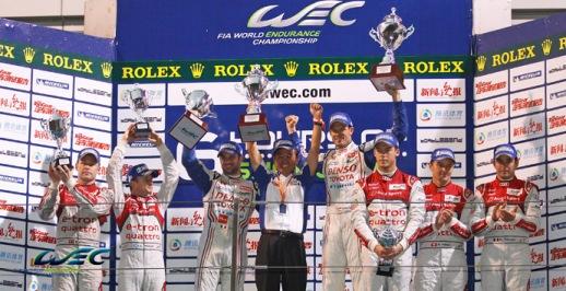 WEC: Toyota vence última etapa. Andre Lotterer/Benoit Treluyer/Marcel Fassler são campeões