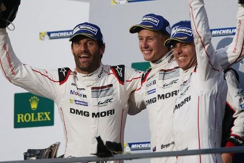 WEC: Trio da Porsche vence no México