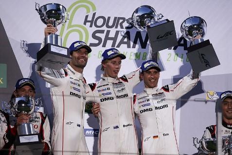 WEC: Porsche vence em Shangai