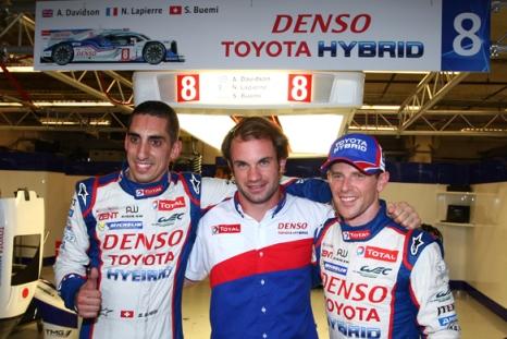 WEC: Toyota marca a pole em Austin