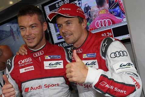 WEC: Audi domina primeira fila para as 6 Horas de Nurburgring