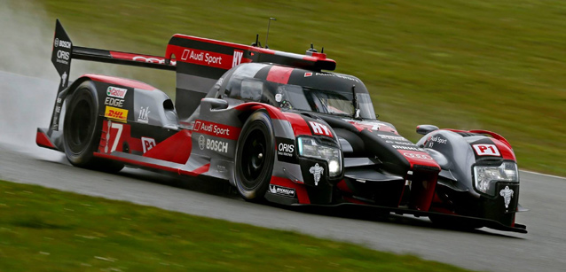 WEC: Audi domina treino classificatório em Silverstone