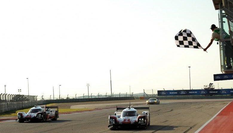 WEC: Porsche faz a dobradinha em Austin