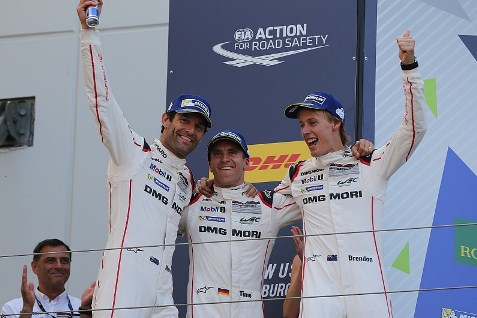 WEC: Mark Webber/Timo Bernhard/Brendon Hartley vencem em Nurburgring