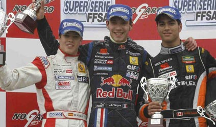 F-Renault: Três campeonatos começam na Europa