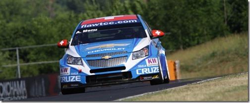 WTCC: Alain Menu marca a pole na Hungria