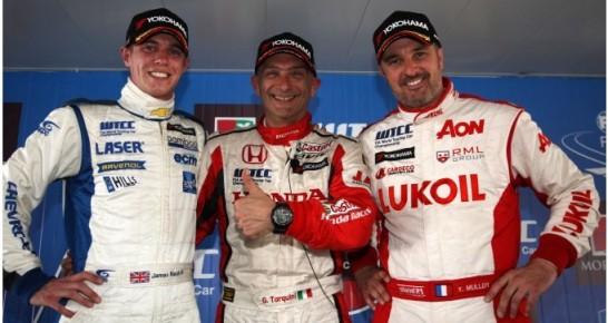 WTCC: Gabriele Tarquini coloca Honda na pole em Marrakech
