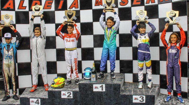 Kart: Vinícius Tessaro conquistou dupla vitória na estreia em sua nova categoria