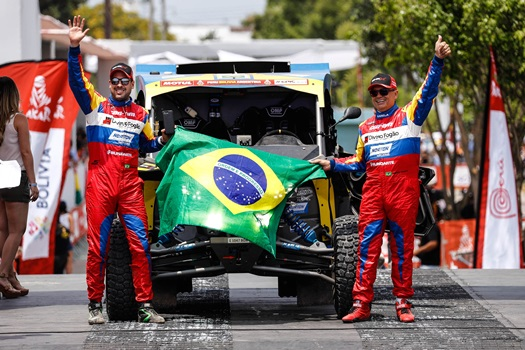 Rally Dakar: Reinaldo Varela e Gustavo Gugelmin iniciam Rally Dakar em oitavo