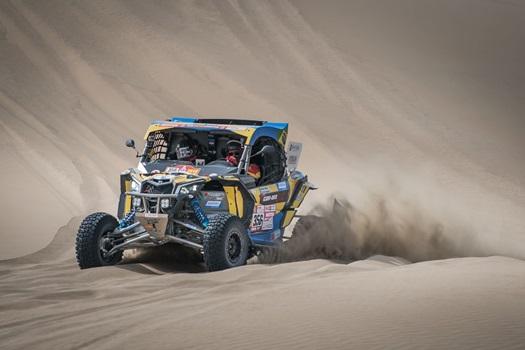 Rally Dakar: Can-Am Maverick X3 é destaque dos UTVs após 3 etapas