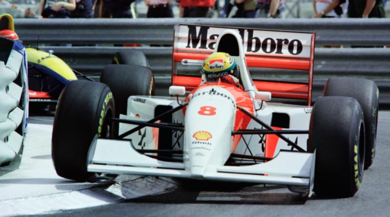 F1: McLaren da última vitória de Senna em Monaco vai a leilão