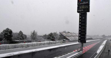 F1: Neve atrasa terceiro dia de testes da Pré-Temporada em Barcelona