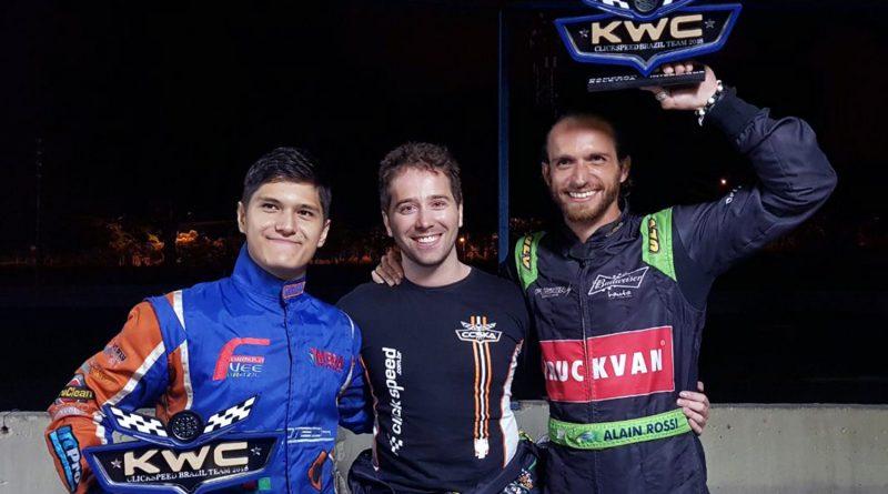 Seletiva para o Kart World Championship: Rossi vence e Otazú é segundo