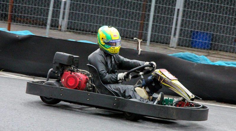 Kart: Alberto Cesar Otazú terá final de semana agitado