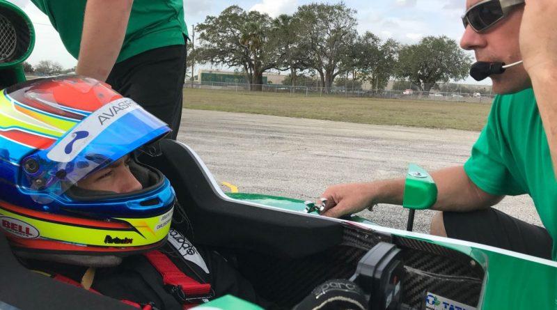 Pro Mazda Championship: Carlos Cunha Filho completa três dias de testes com a Juncos Racing