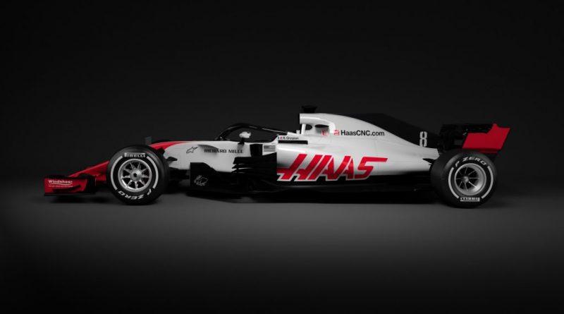 F1: Equipe Haas é a primeira a apresentar o carro para 2018; Confira as fotos!!!