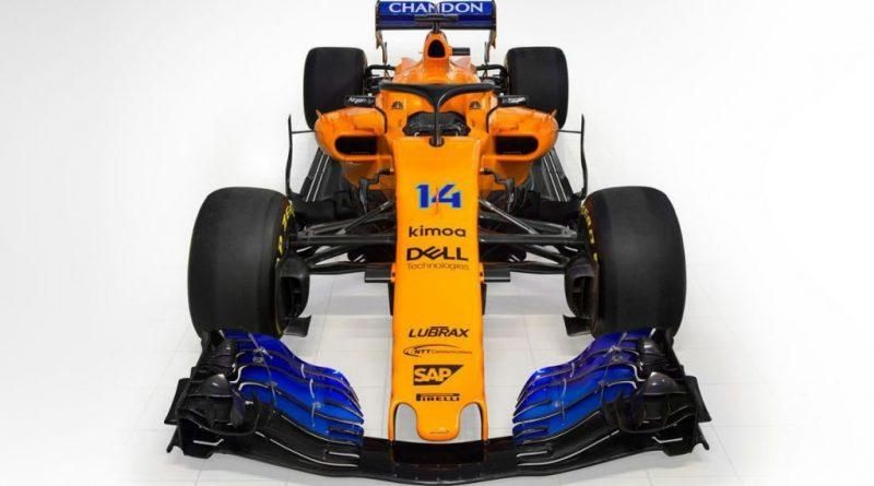 F1: Confira as primeiras imagens do MCL33, carro da McLaren para 2018