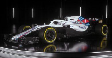 F1: Williams apresenta seu carro para a temporada de 2018