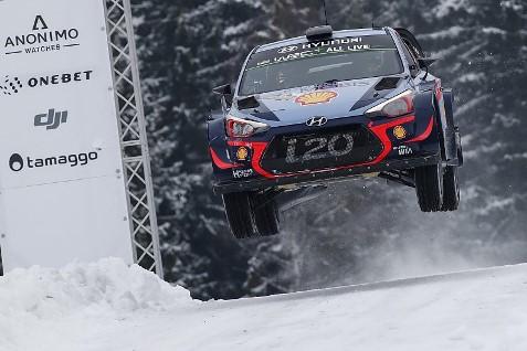 WRC: Thierry Neuville vence Rally da Suécia