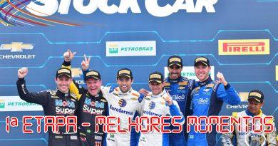 Stock Car: Confira os melhores momentos da 1ª etapa do ano