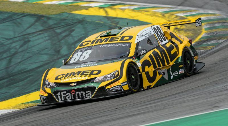 Stock Car: 40 Felipe Fraga / Nick Castburg são os mais rápidos do 3º Treino Oficial