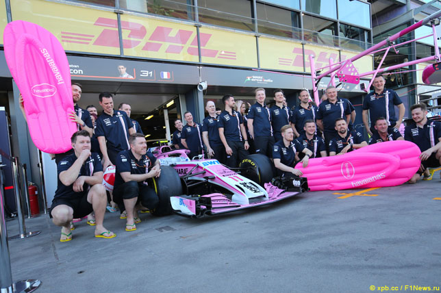 F1  Havaianas fecha patrocínio com Force India  d99ff625f2ab8