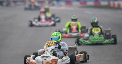 Kart: Em sua estreia na Europa, Guilherme Figueiredo se destaca no top-10 no Troféu Margutti