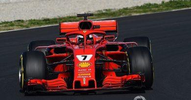 F1: Kimi Raikkonen marca o melhor tempo da manhã em Barcelona