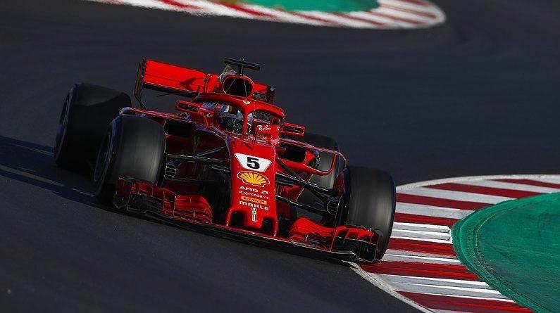 F1: Sebastian Vettel encerra dia na frente em Barcelona