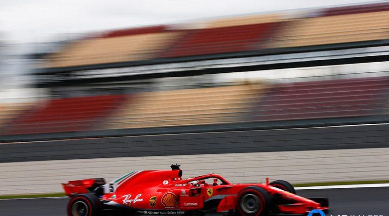 F1: Vettel voa e estabelece novo recorde da pista na manhã em Barcelona